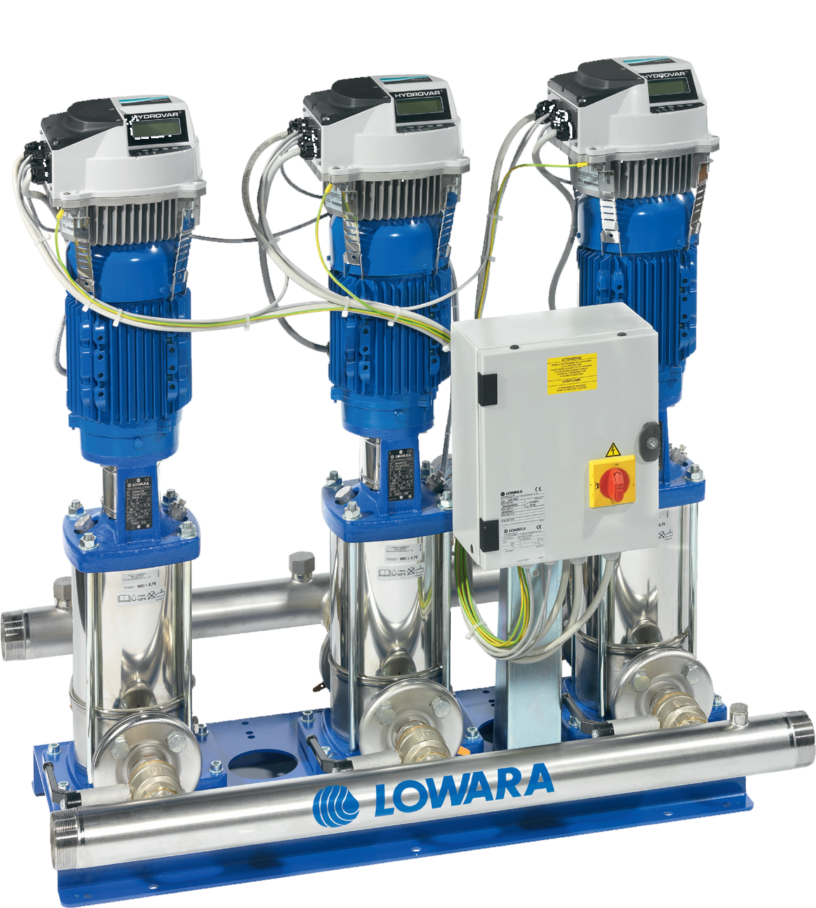 Cold Water Booster Sets Wilo Pump Wiring Diagram Lowara Fast Lane Variable Speed Drive